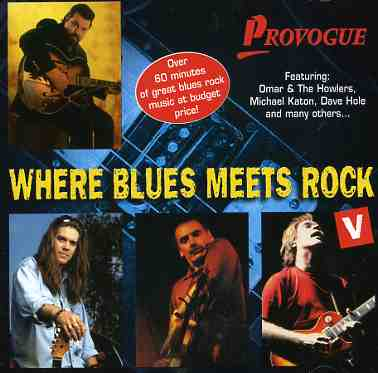 CD V/A - WHERE BLUES MEETS ROCK 5
