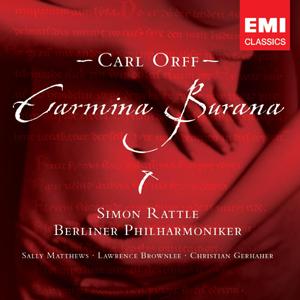 CD RATTLE, SIR SIMON - CARMINA BURANA