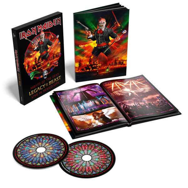 Iron Maiden - CD NIGHTS OF THE DEAD - LEGACY OF THE BEAST, LIVE IN MEXICO CITY (DELUXE)