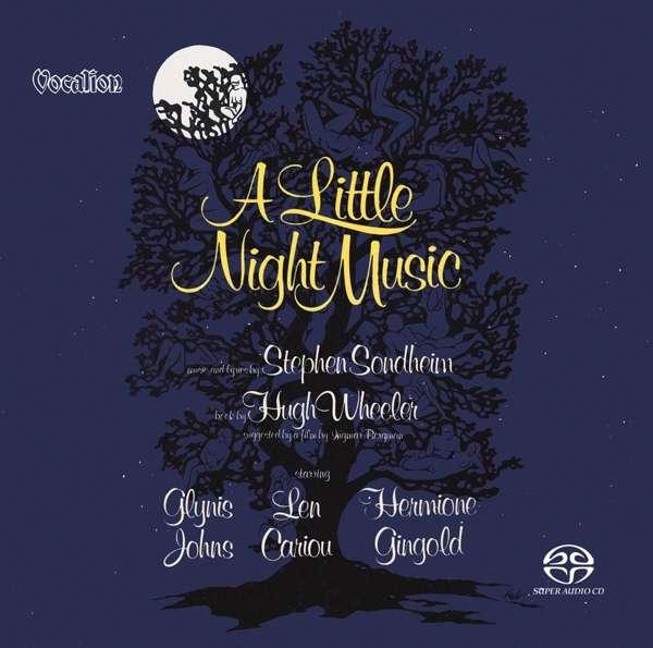 CD ORIGINAL BROADWAY CAST - A LITTLE NIGHT MUSIC