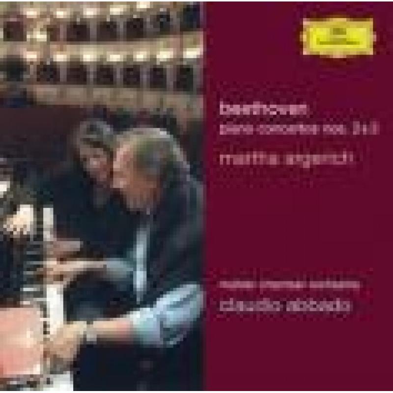 CD ARGERICH/ABBADO/BPH - BEETHOVEN: KONCERTY 3,2