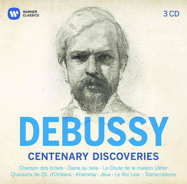 CD VARIOUS ARTISTS - DEBUSSY - CENTENARY DISCOVERIES
