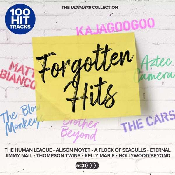 CD VARIOUS ARTISTS - ULTIMATE FORGOTTEN HITS