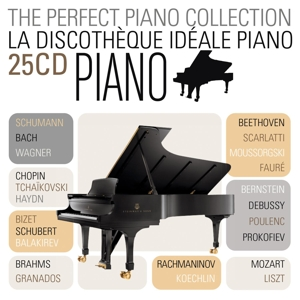 CD V/A - Perfect Piano Collection 10