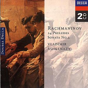 CD ASHKENAZY VLADIMIR - PRELUDIA-24 SKLADEB