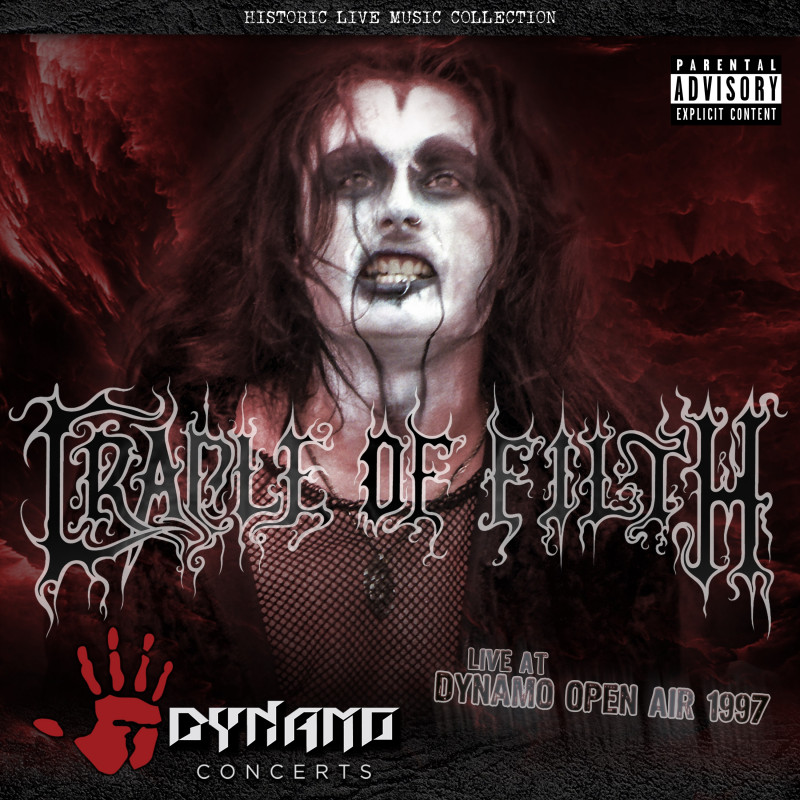 Cradle of Filth - CD LIVE AT DYNAMO OPEN AIR...