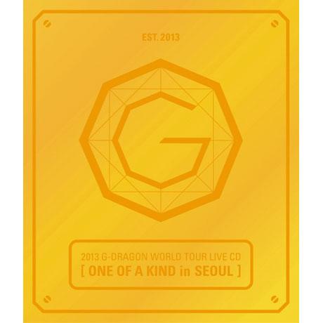 CD G-DRAGON (BIGBANG) - ONE OF A KIND IN SEOUL (2013 G-DRAGON WORLD TOUR LIVE)