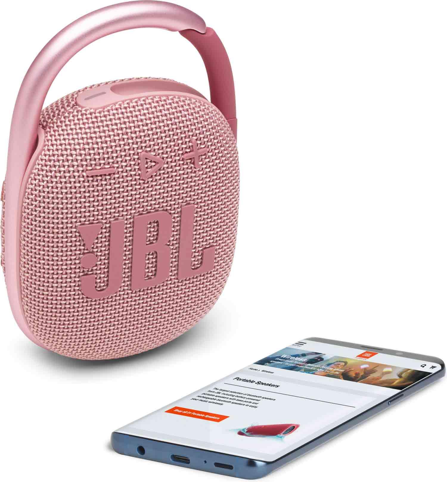 Reproduktor JBL Clip 4 Pink