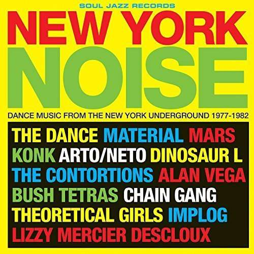 CD V/A - NEW YORK NOISE - DANCE MUSIC FROM THE UNDERGROUND 1977-1982