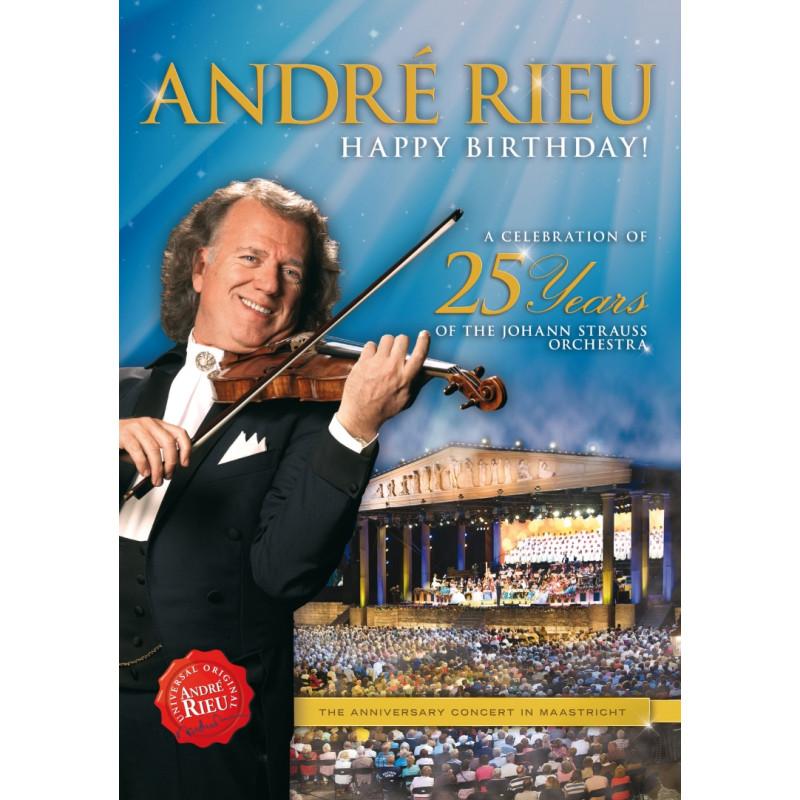 DVD RIEU ANDRE - HAPPY BIRTHDAY!