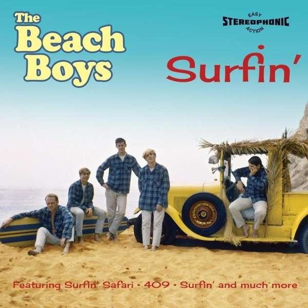 The Beach Boys - CD SURFIN' -ORIGINAL RECORDINGS 1961-1962