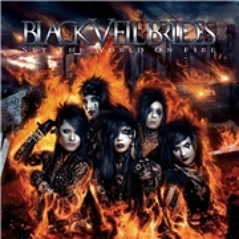 Black Veil Brides - CD SET THE WORLD ON FIRE