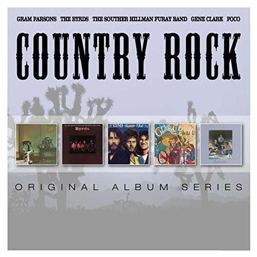 CD COUNTRY ROCK - ORIGINAL ALBUM SERIES