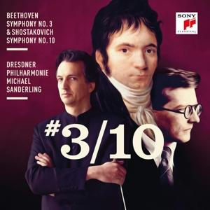 CD BEETHOVEN/SHOSTAKOVICH - Beethoven: Symphony No. 3 & Sh