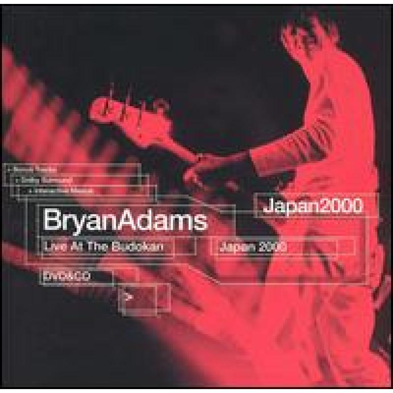 DVD ADAMS BRYAN - LIVE AT THE BUDOKAN