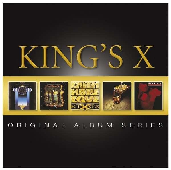 King's X - CD ORIGINAL ALBUM SERIES