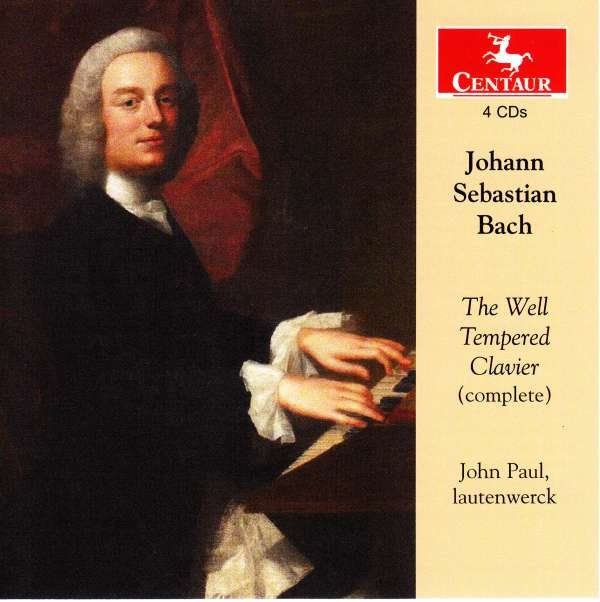 CD BACH, J.S. - WELL-TEMPERED CLAVIER