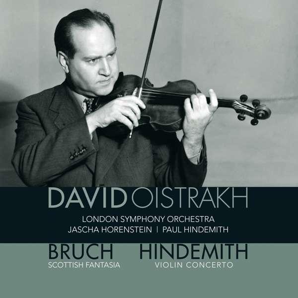 Vinyl BRUCH/HINDEMITH - SCOTTISH FANTASIA, OP.46 & VIOLIN CONCERTO (1939)