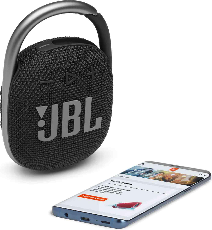 Reproduktor JBL Clip 4 Black