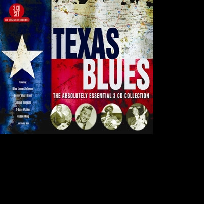 CD V/A - TEXAS BLUES - THE ABSOLUTELY ESSENTIAL 3 CD COLLECTION