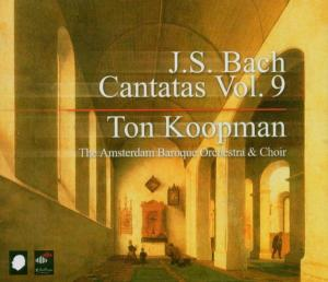 CD BACH, J.S. - COMPLETE BACH CANTATAS 9