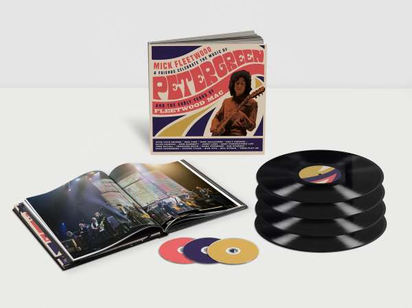 Vinyl FLEETWOOD, MICK AND FRIENDS - CELEBRATE THE MUSIC OF PETER GREEN AND THE EARLY YEARS OF FLEETWOOD MAC (4LP, 2CD, 1BR)