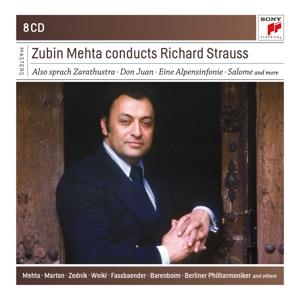 CD STRAUSS, R. - Zubin Mehta Conducts Richard S