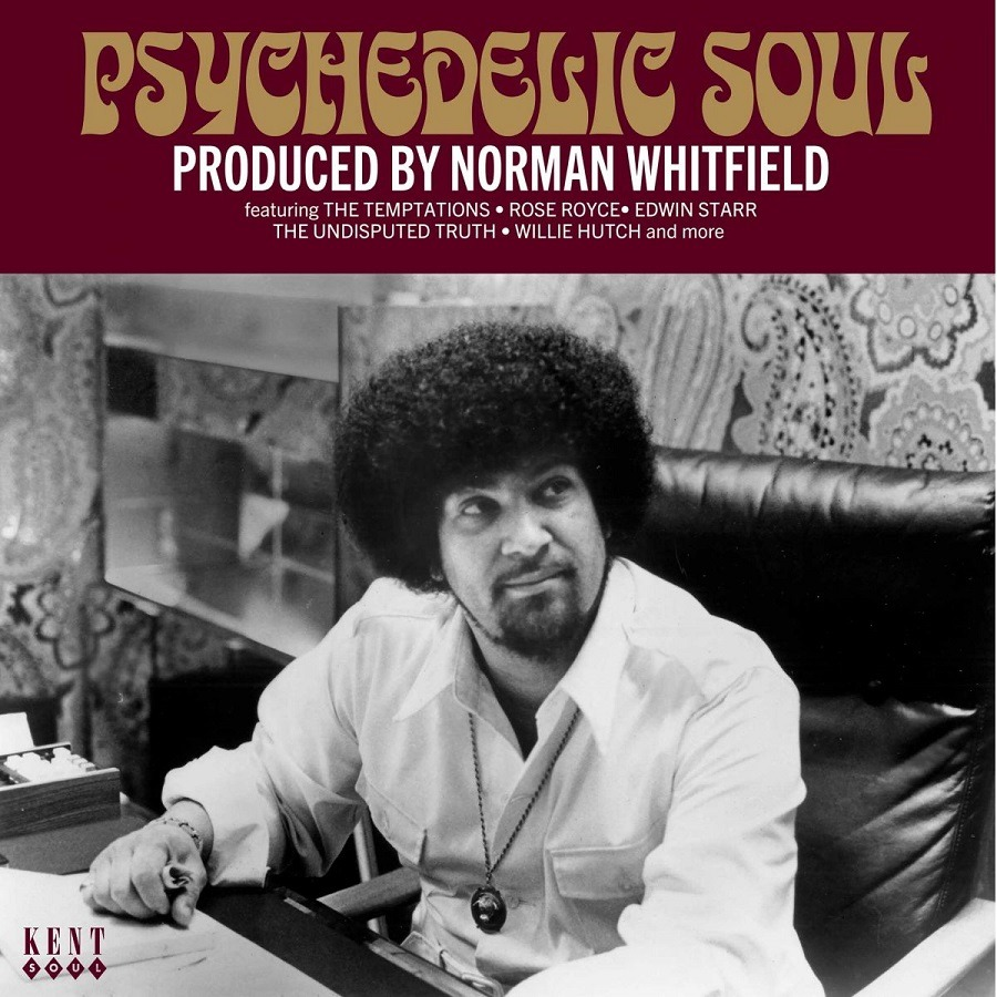 CD V/A - PSYCHEDELIC SOUL - PRODUCED BY NORMAN WHITFIELD
