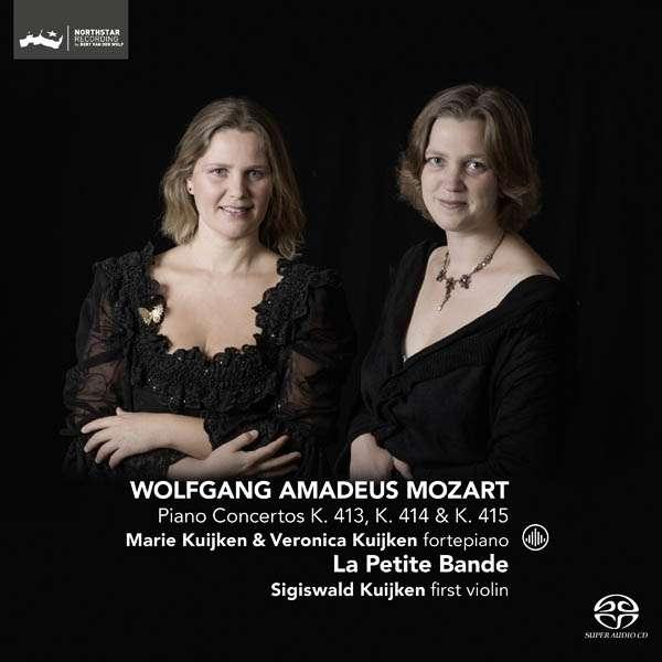 CD MOZART, W.A. - PIANO CONCERTOS KV413-415