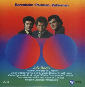 CD PERLMAN/ZUKERMAN/ECO/DANIEL - BACH: CONCERTOS