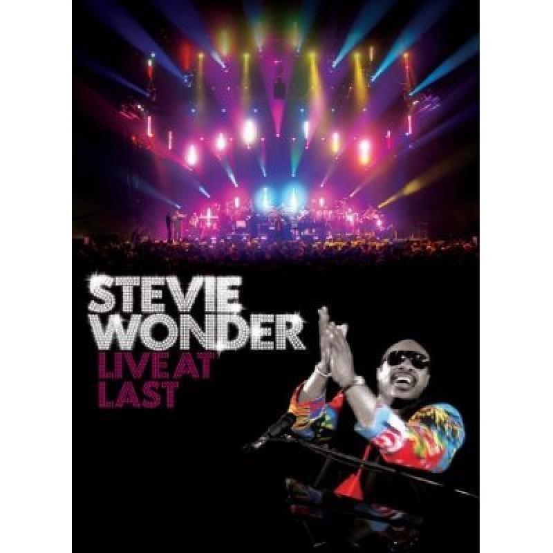 DVD WONDER STEVIE - LIVE AT LAST