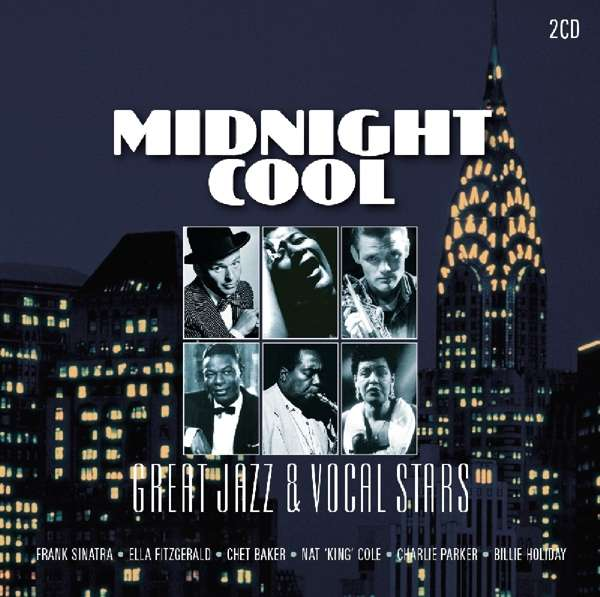 CD V/A - MIDNIGHT COOL - GREAT JAZZ AND VOCAL STARS