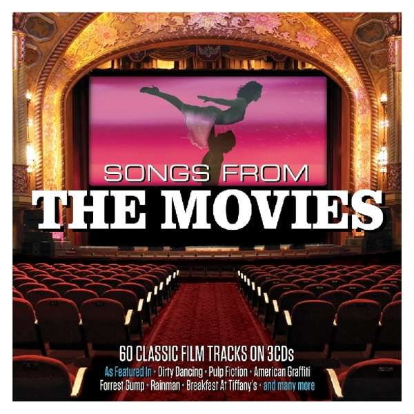 CD V/A - SONGS FROM THE MOVIES