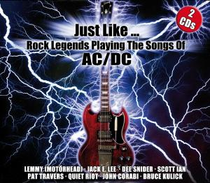 CD V/A - JUST LIKE... ROCK LEGENDS PLAYING THE SONGS OF AC/DC