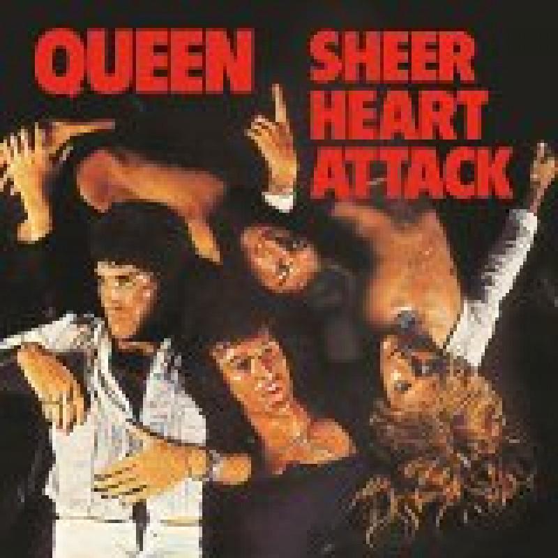 Queen - Vinyl SHEER HEART ATTACK