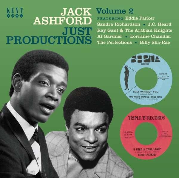 CD V/A - JACK ASHFORD JUST PRODUCTIONS VOL.2