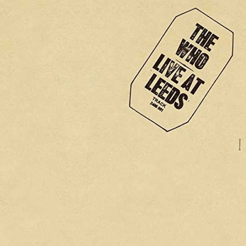 Vinyl WHO THE - LIVE AT LEEDS