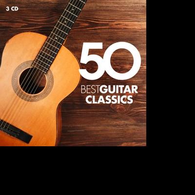 CD VARIOUS ARTISTS - 50 BEST GUITAR CLASSICS (2016)
