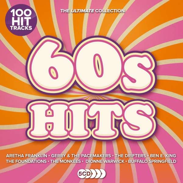 CD VARIOUS ARTISTS - ULTIMATE HITS: 60S