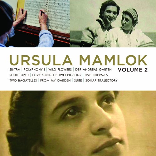 CD MAMLOK, U. - MUSIC OF URSULA MAMLOK VOL.2