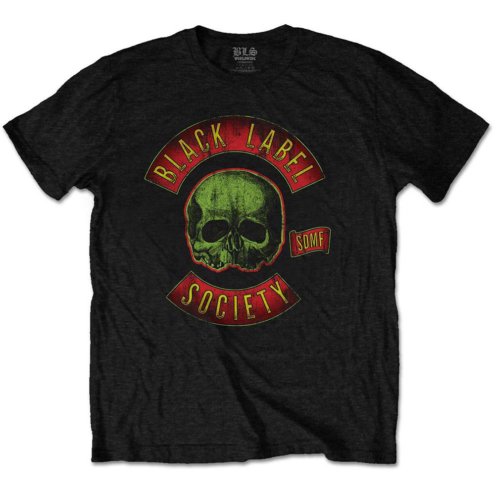 Black Label Society - Tričko Skull Logo - Muž, Unisex, Čierna, XXL