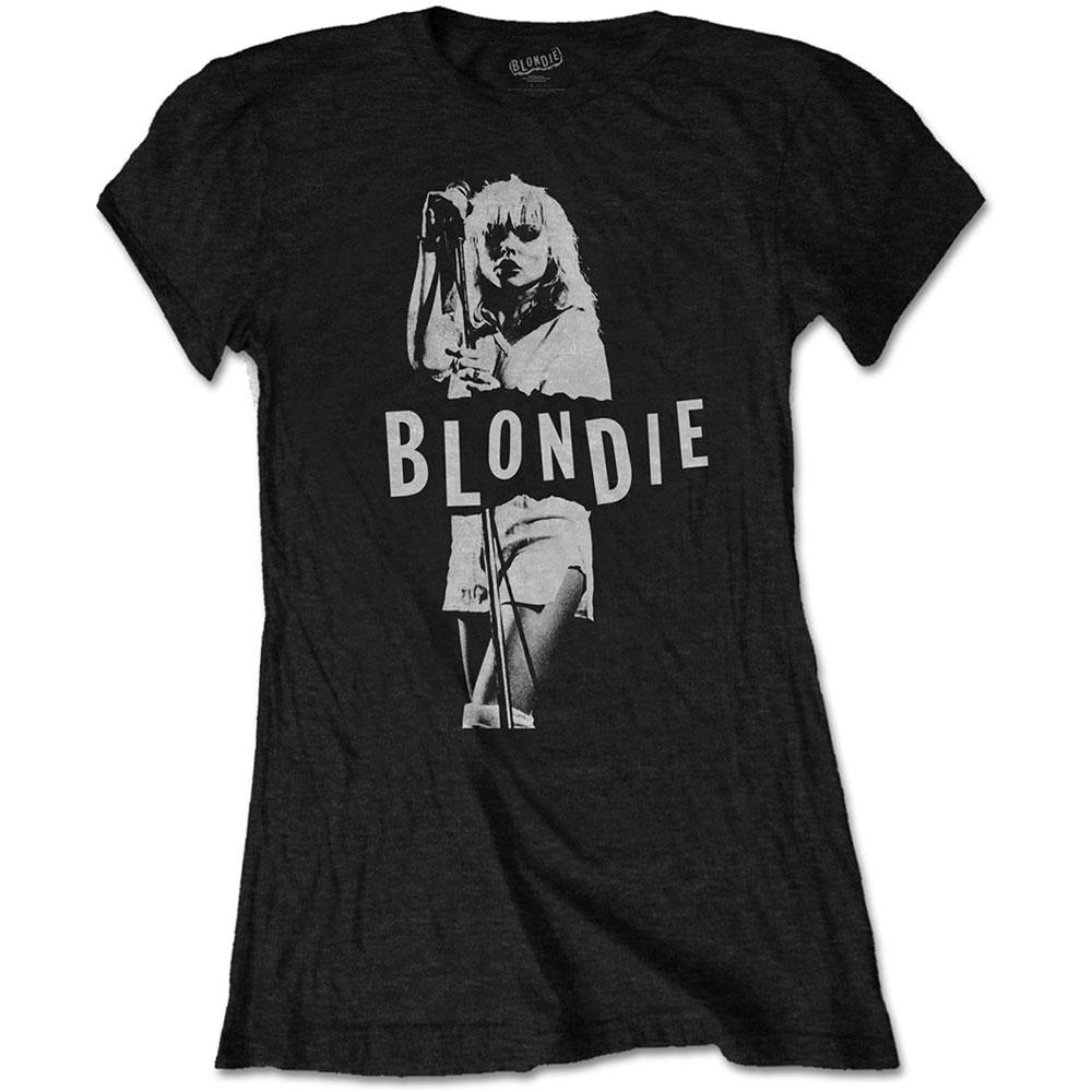 Blondie - Tričko Mic. Stand - Žena, Čierna, S