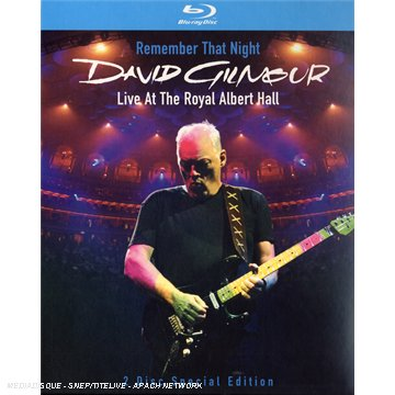 Blu-ray GILMOUR, DAVID - REMEMBER THAT NIGHT (BLU-RAY DVD)