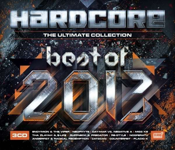 CD V/A - BEST OF 2013 - HARDCORE THE ULTIMATE COLLECTION