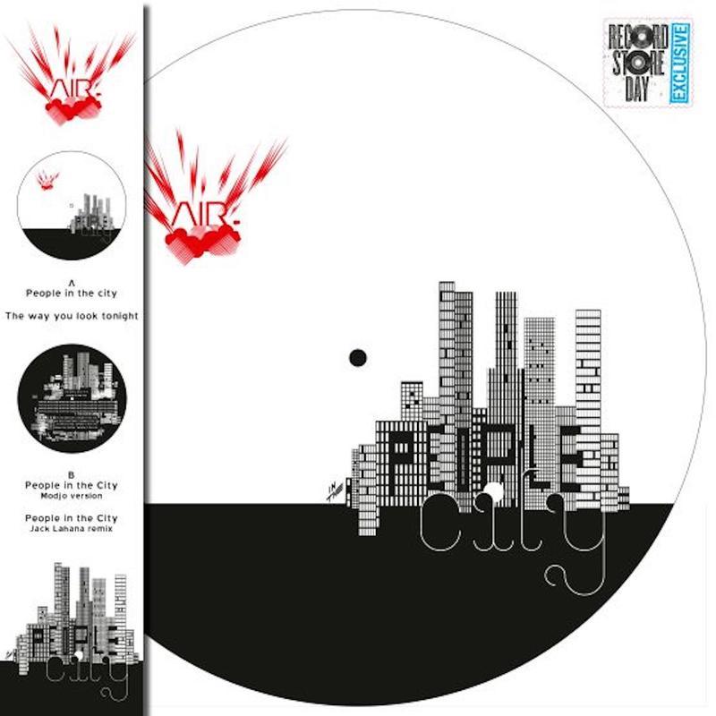 Vinyl AIR - RSD - PEOPLE IN THE CITY
