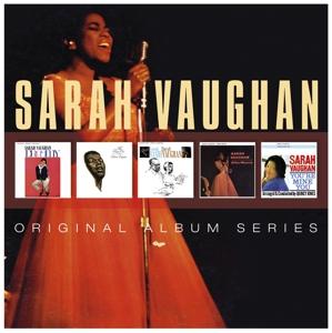 CD VAUGHAN, SARAH - ORIGINAL ALBUM SERIES
