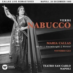 CD CALLAS, MARIA - VERDI: NABUCCO (NAPOLI, 20/12/1949)