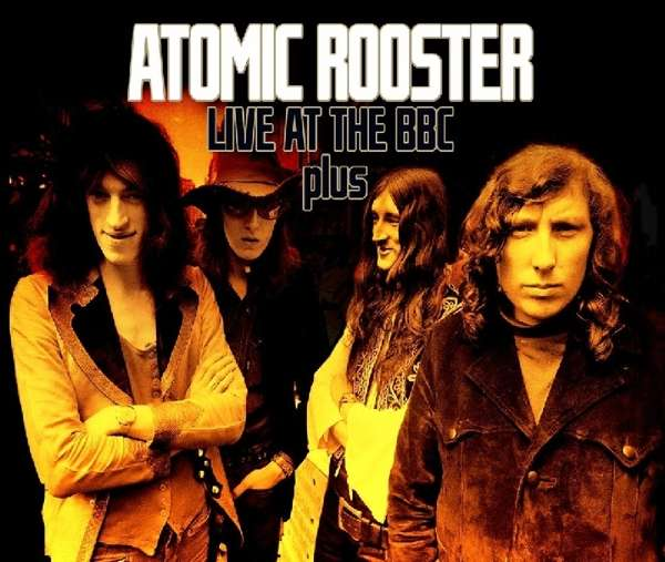 CD ATOMIC ROOSTER - LIVE AT THE BBC PLUS