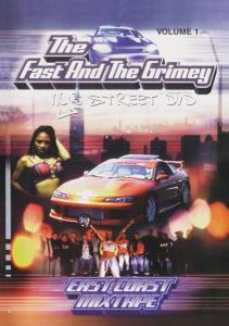DVD DOCUMENTARY - FAST & THE GRIMEY-NYC