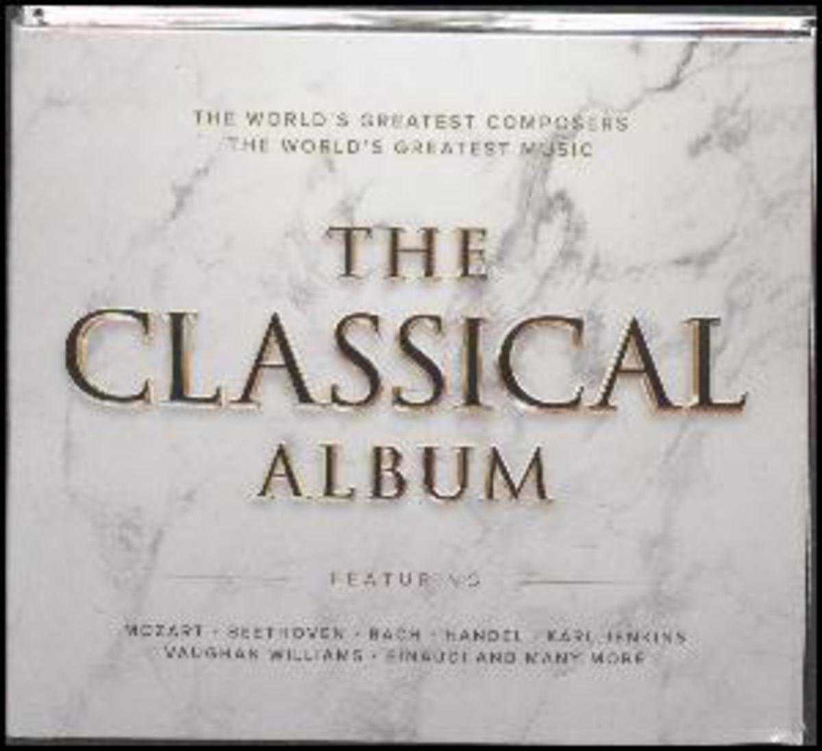 CD RUZNI KLASIKA - THE CLASSICAL ALBUM